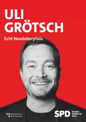 Bundestagsabgeordnter Uli Grötsch